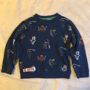 Kids LEGO Ninjago Sweatshirt Size 4-6